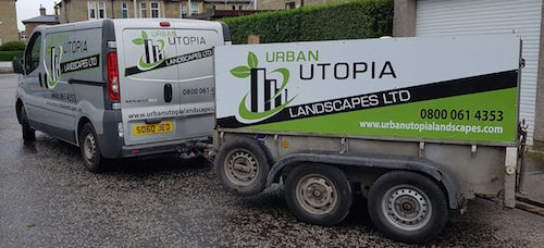 Landscaping Business Edinburgh & Lothian