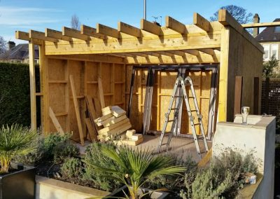 Custom Built Summer Houses Cabins Huts Edinburgh Scotland 04